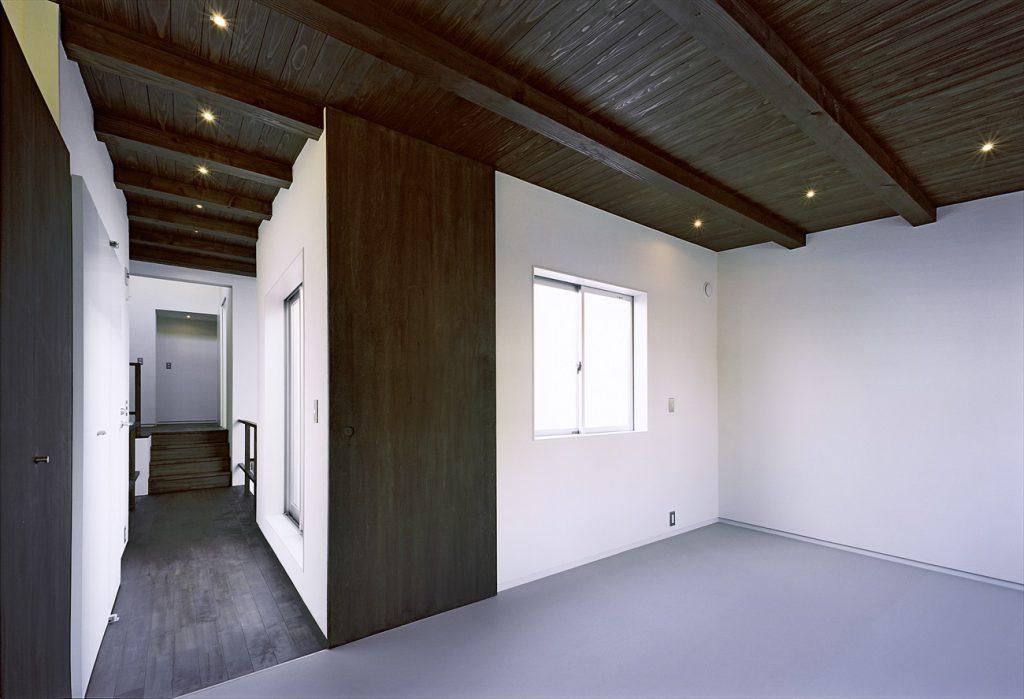 構造材のあらわし天井