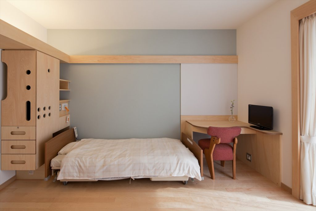 4床室のなかの一部屋