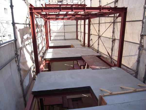 3階床スラブ