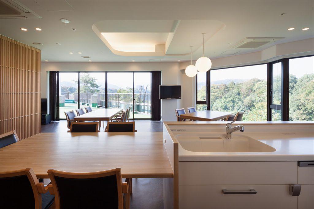キッチンと食堂