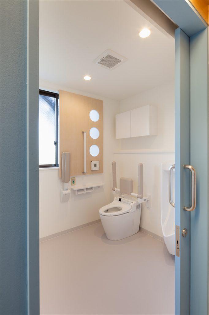 利用者目線のトイレ