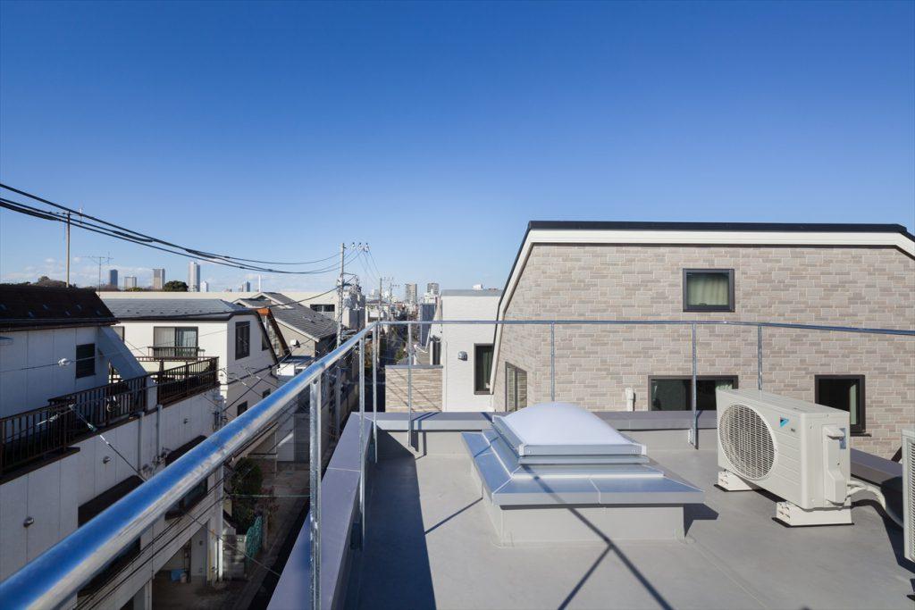 3階クローゼットにあるハッチで屋上へ