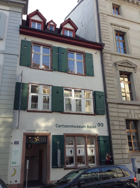 Caricature & Cartoon Museum Basel1