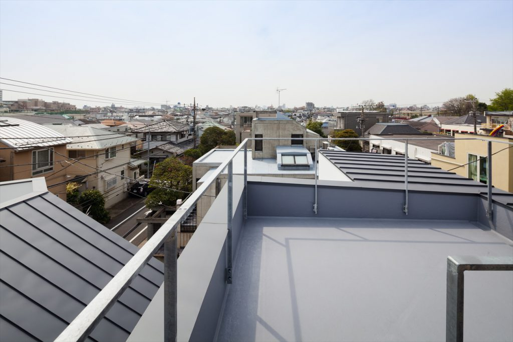 眺めの良い屋上