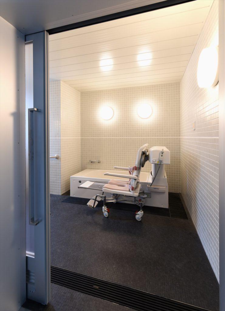 利用者目線の浴室