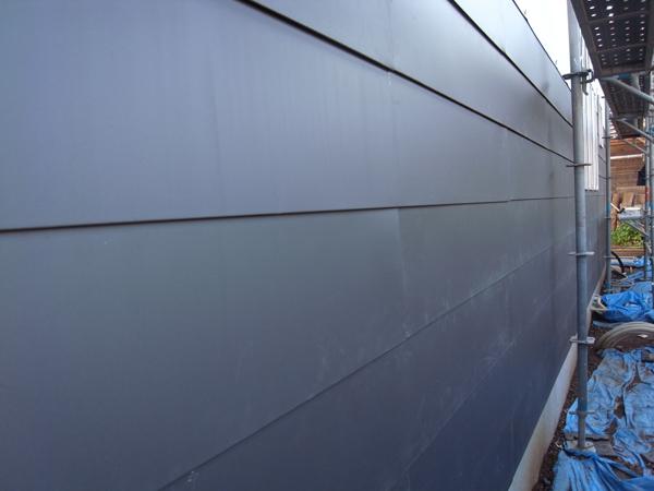 ガルバリウム鋼板平葺き