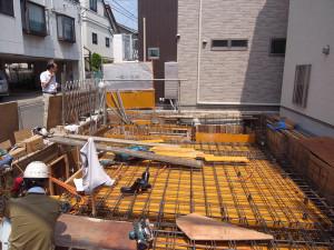 1階床型枠