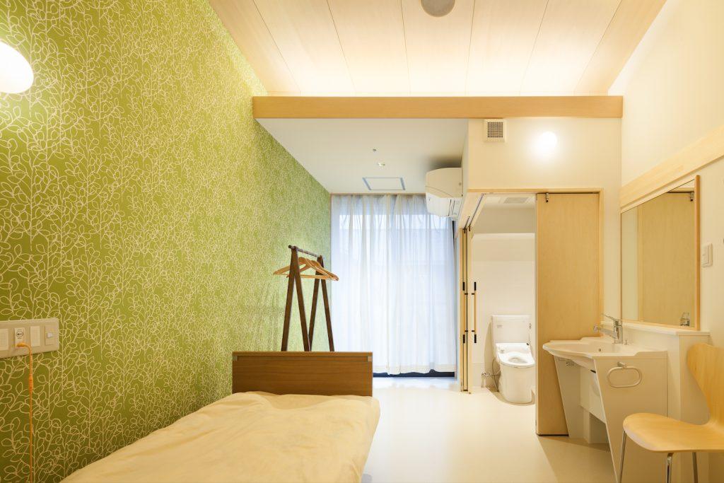 ナザレ園特養ホーム改修工事 茨城県那珂市 開放的なスペースで心地よいユニット型特養の福祉施設