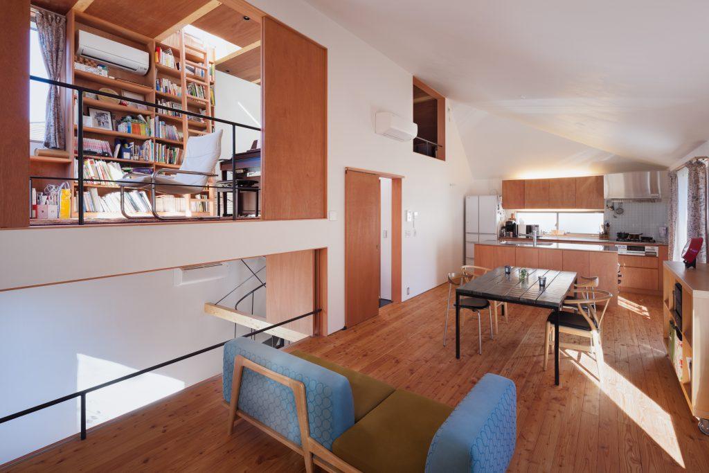 三層スキップで楽しい家
