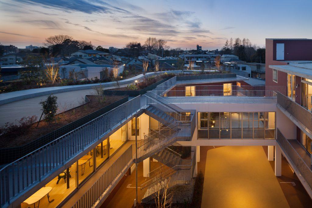 3階建ての福祉施設