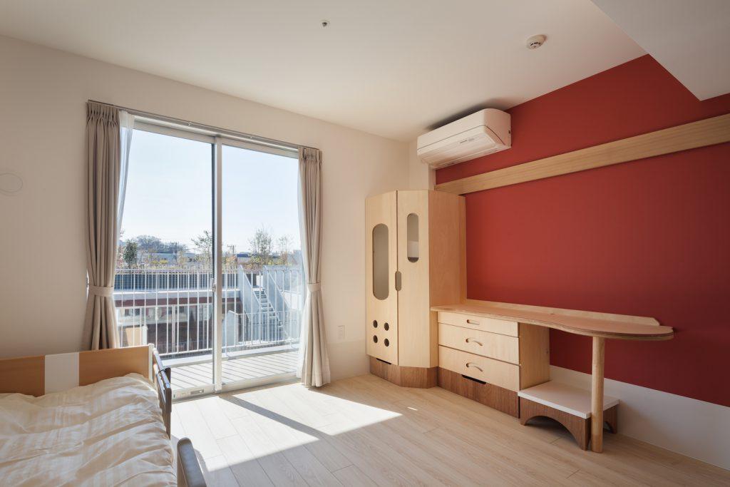 日当たりを考えた個室