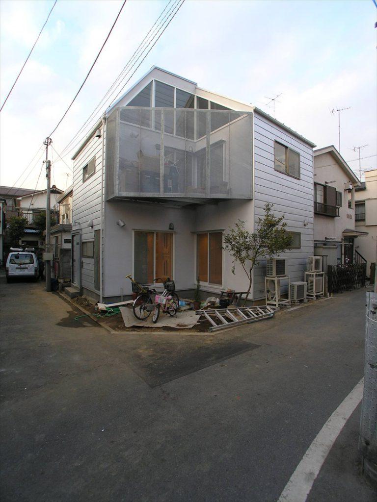 木造の二世帯住宅