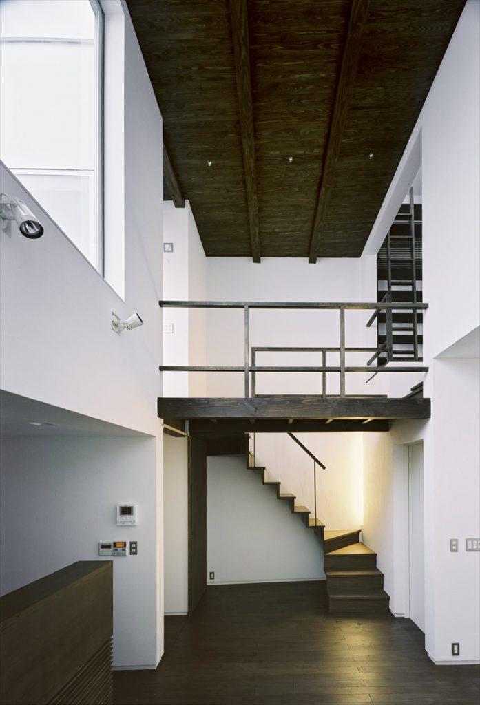 階段とブリッジ