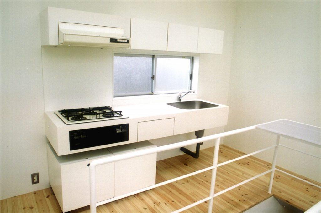 使いやすいキッチンスペース