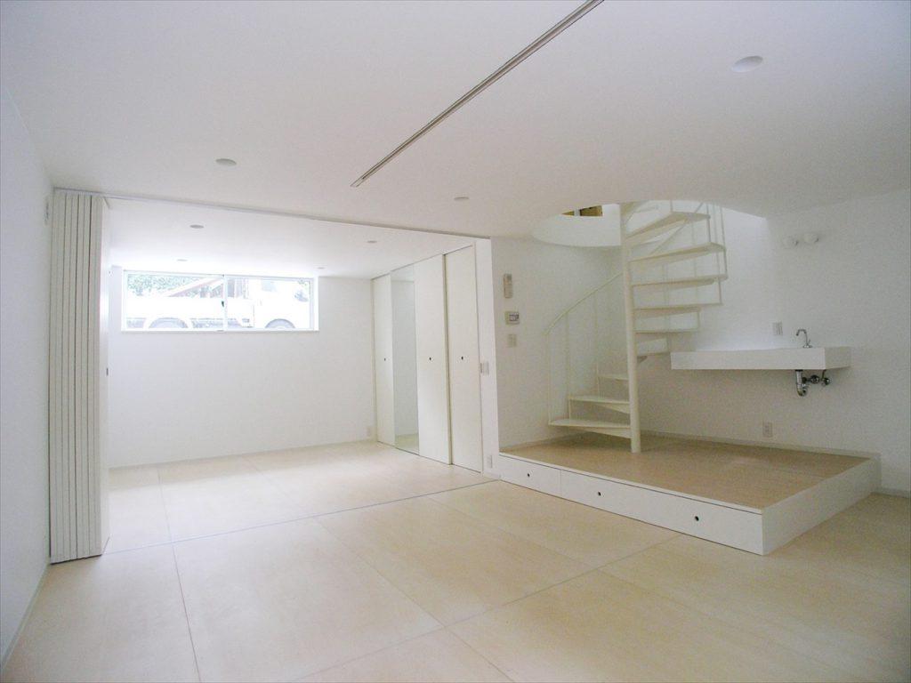 半地下空間で理想の住宅