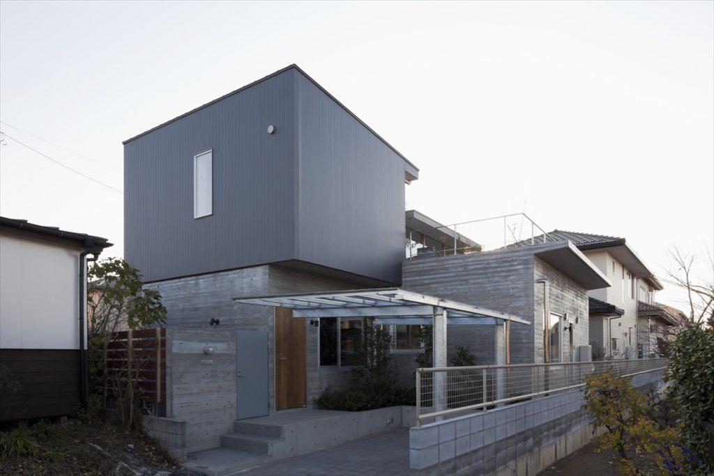 RC造り+木造で理想の家