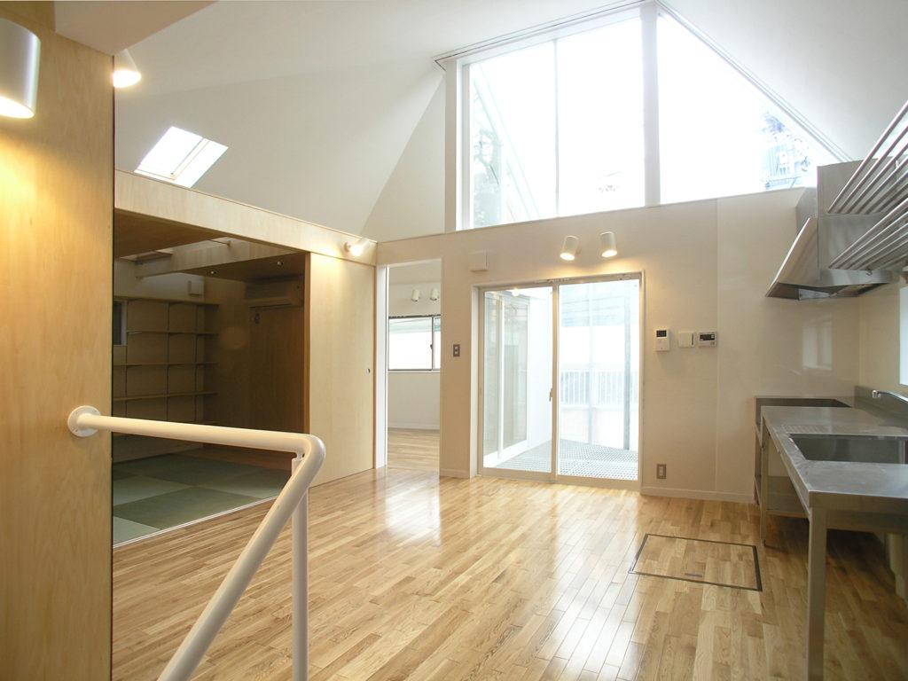 H・N邸 東京都板橋区 広さを感じさせる空間の木造二世帯住宅