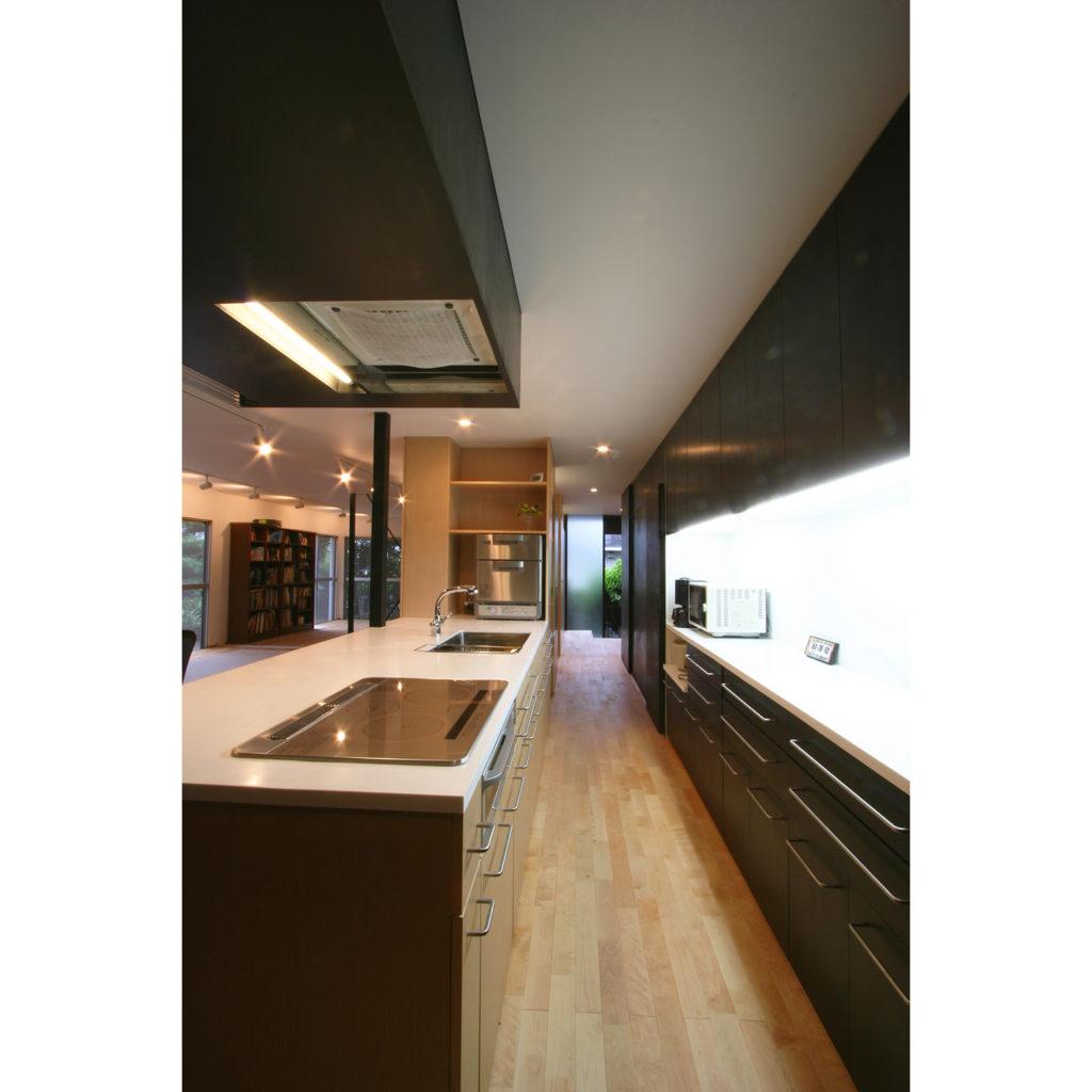 対面型のキッチン