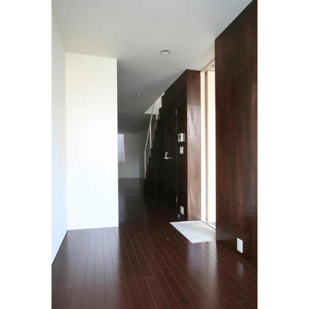2階の住宅入口