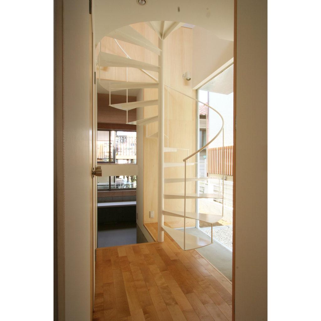 螺旋階段でワンランク上の住宅