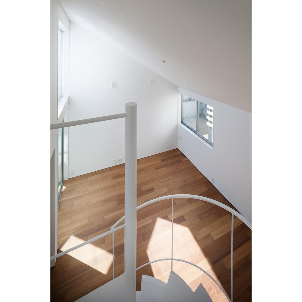 螺旋階段からの眺め