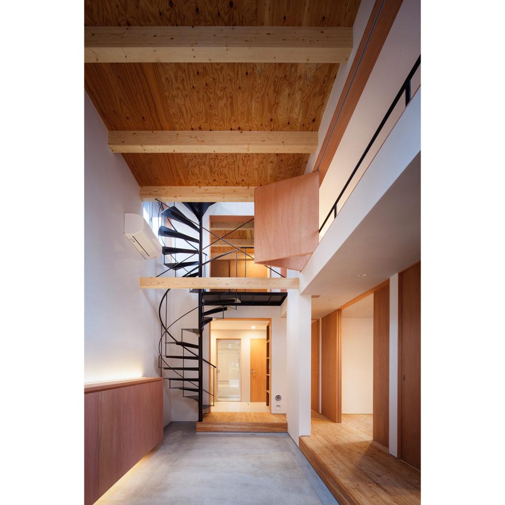 明るい雰囲気の家