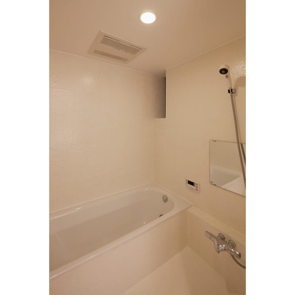 FRP防水で仕上げられたトイレ