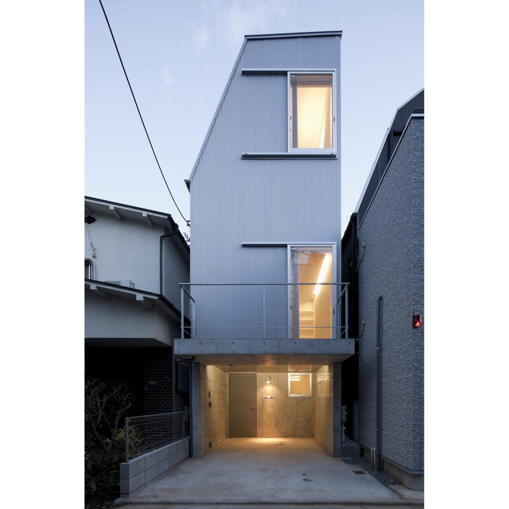 品川の家 東京都品川区 コストを抑えた3階建ての木造住宅