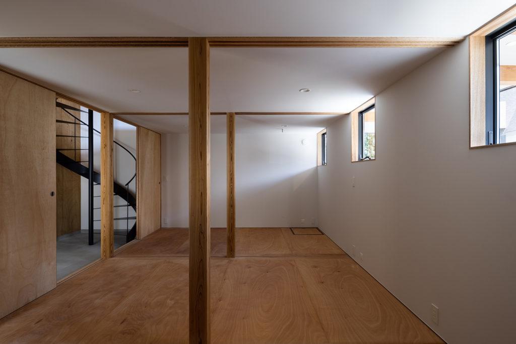 三室に分けることができる子供部屋